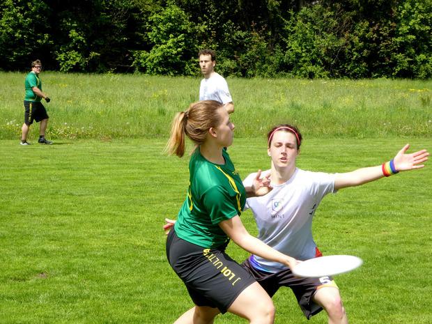 Insgesamt machten 14 Mixed-Teams den Titel beim Flying Unicorn Cup in Kundl unter sich aus.