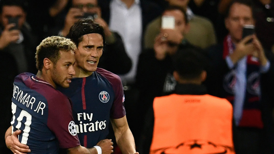 Das Sturmduo Neymar und Edinson Cavani soll PSG im Sommer verlassen.