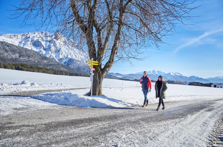Am Mieminger Plateau und im Inntal  blieben durchschnittlich  7354 Gäste um eine Nacht länger als im Vorjahr.