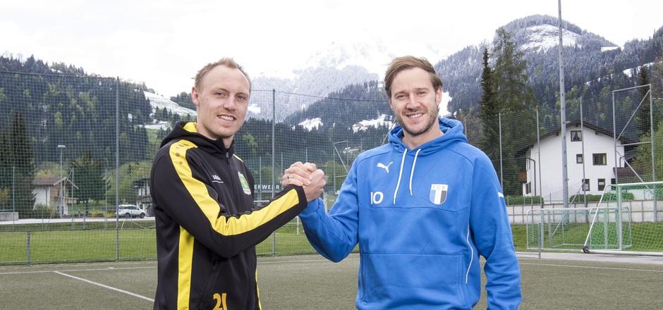 Zwei, auf die man sich immer verlassen konnte, beenden ihre Karriere: Thomas Hartl (l./Kitzbühel) und Mathias Treichl (Kufstein).