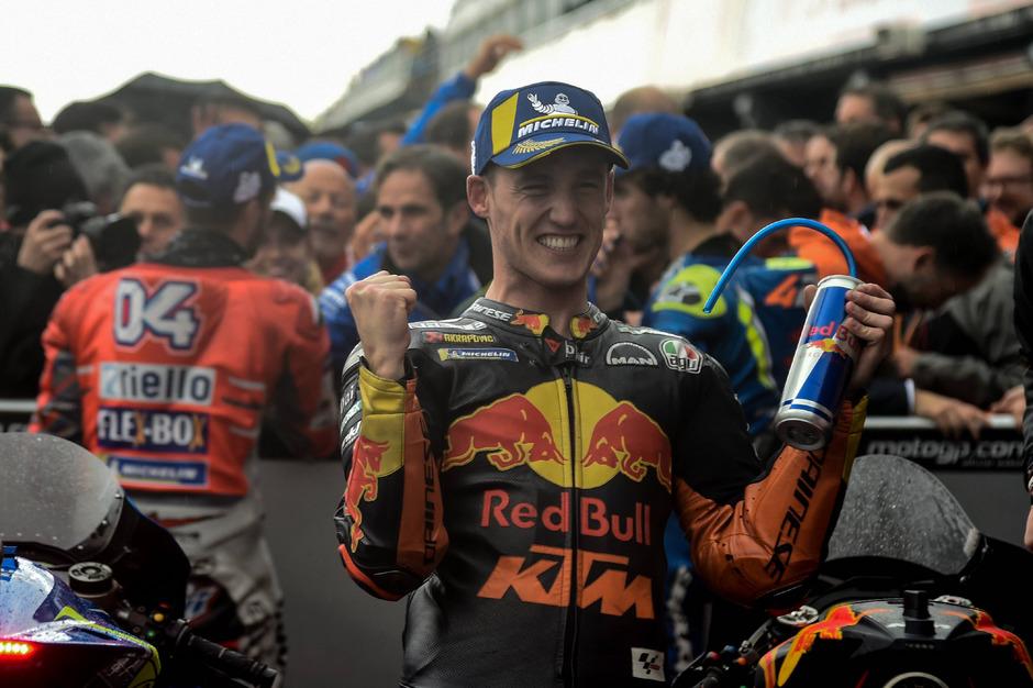 Die eigentliche Nummer zwei bei KTM, der Spanier Pol Espargaró, steht derzeit sportlich mehr im Rampenlicht …