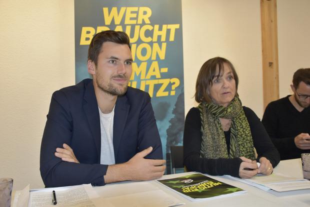 LA Michael Mingler umriss die Anliegen der Grünen.