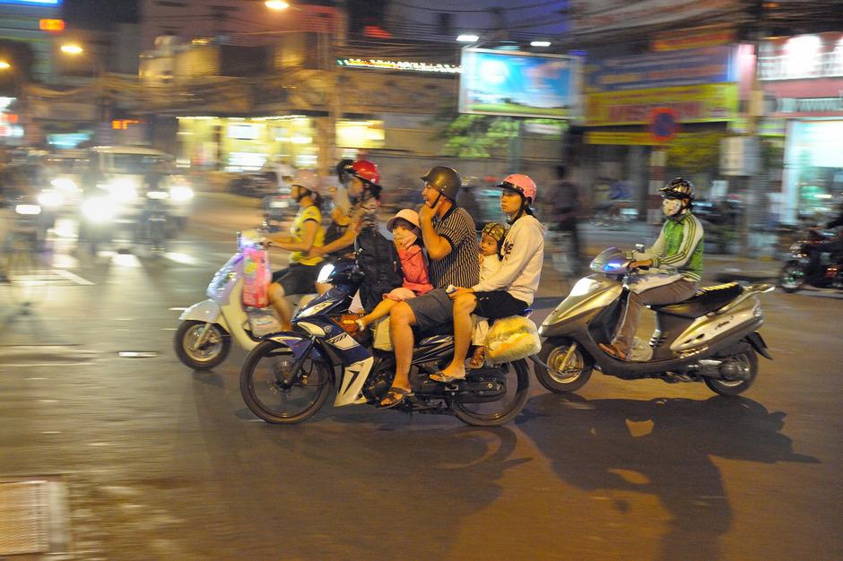 Die  Wirtschaft auf Kapitalismus getrimmt: Vietnam geht einen ähnlichen Weg wie China.