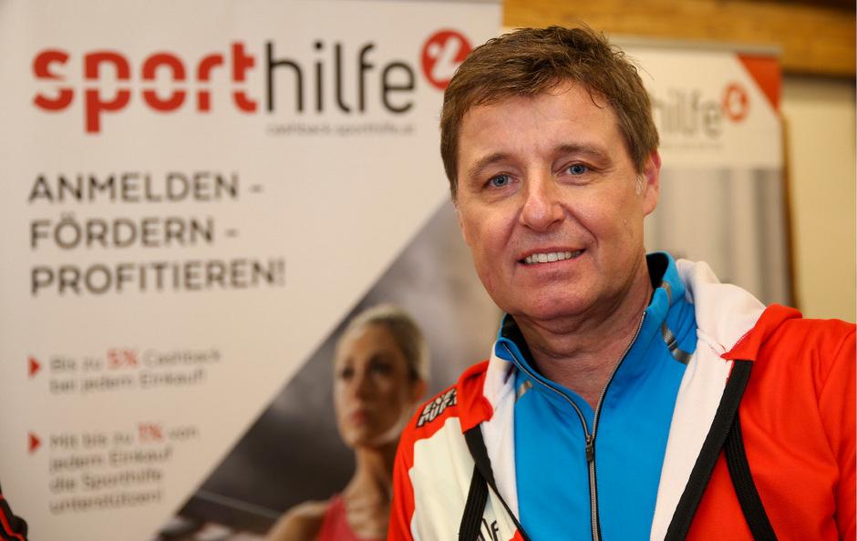 Der scheidende Sporthilfe-Geschäftsführer Harald Bauer.