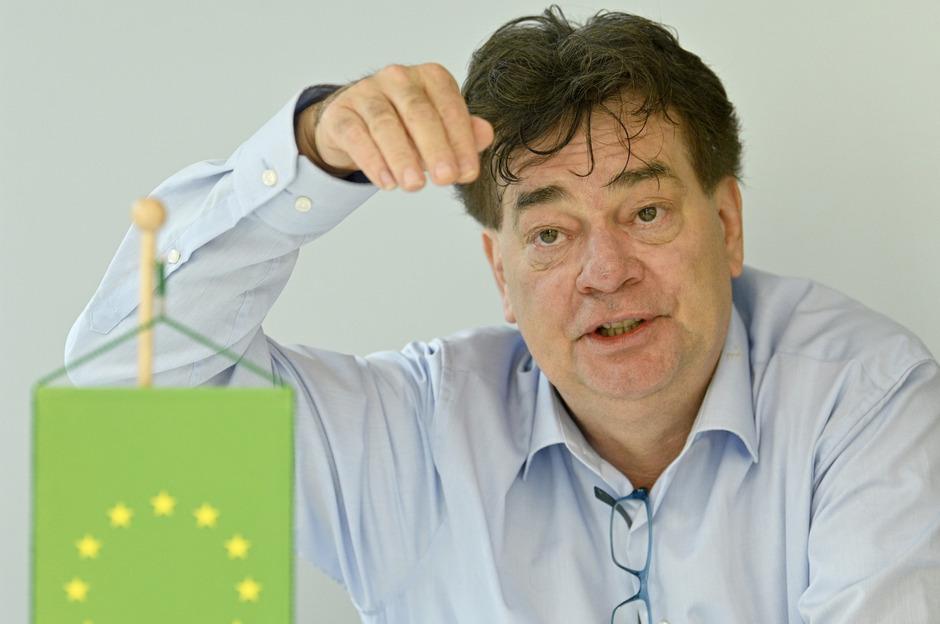 Werner Kogler ist seit Oktober 2017 Chef der Grünen – nun will er in das EU-Parlament einziehen.