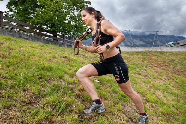 """Beim Spartan Race im April in München kürte sich die Tirolerin zur Siegerin in der """"Beast-Klasse""""."""