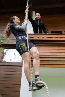 Rainer Eitzinger ist für Petra Gruber nicht nur ihr Lebenspartner. Der Stanser ist auch ihr Trainer.
