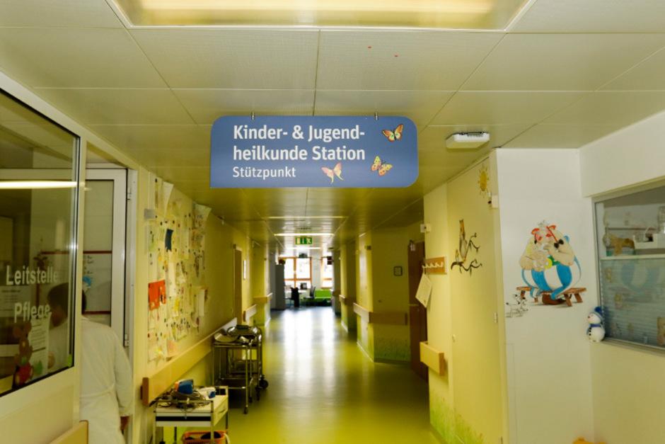 Eigentlich sollte auch die Kinder- und Jugendabteilung in St. Johann geschlossen werden. Sie bleibt jetzt aber bestehen.