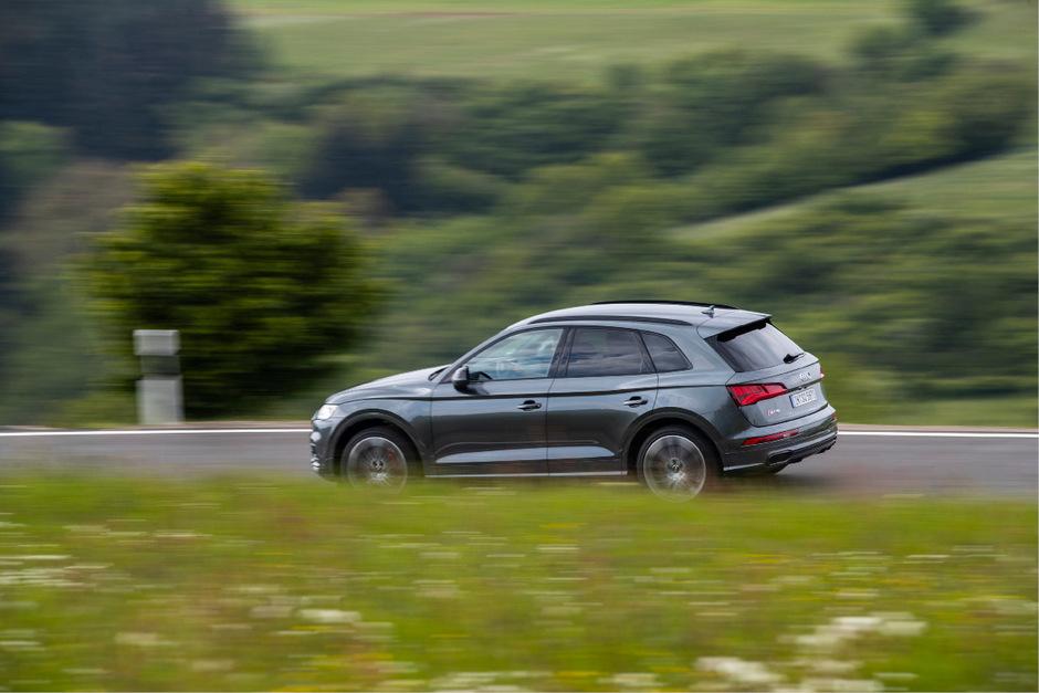 Einer der ersten Nutznießer des neuen V6-Turbodiesels mit elektrischem Verdichter ist der SQ5.