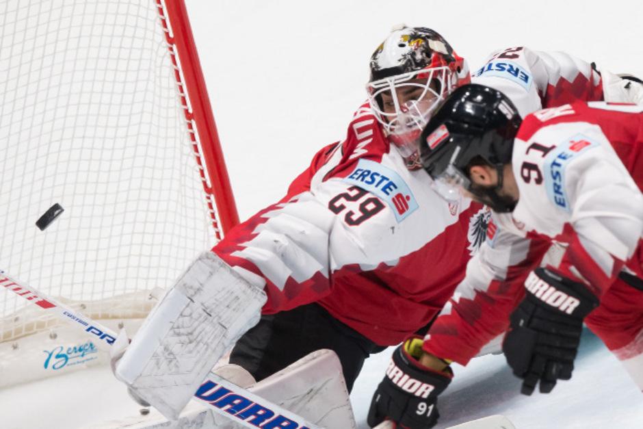Goalie Bernhard Starkbaum konnte sich gegen Norwegen nicht empfehlen.