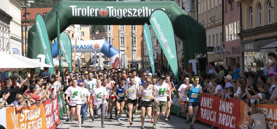 Rund 1500 Läufer werden heute bei der 35. Auflage des Innsbrucker Stadtlaufs erwartet.