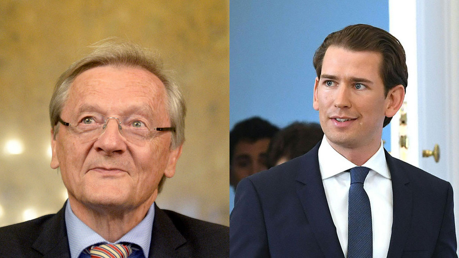 Wolfgang Schüssel und Sebastian Kurz.