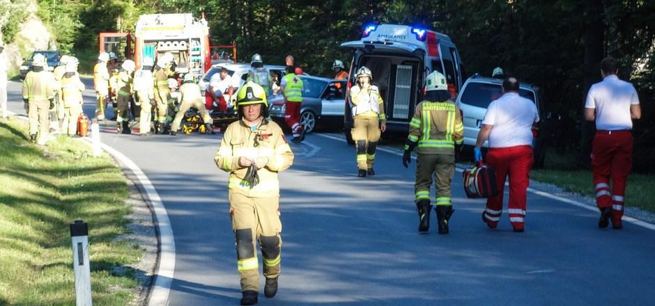 Die L255 Planseestraße wurde im Vorjahr zum Hotspot für die Einsatzkräfte. Zahlreiche Unfälle forderten die Helfer.
