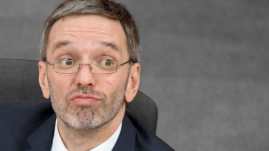 Innenminister Herbert Kickl (FPÖ) muss mit hoher Wahrscheinlichkeit seinen Posten räumen.