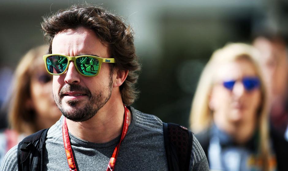 Fernando Alonso bleibt beim Indy500 nur die Zuschauerrolle.