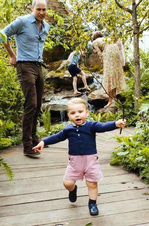 Prinz Louis ist kein Baby mehr, er kann schon laufen.