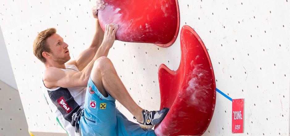Nach fast sechs Jahren Pause erkämpfte der Innsbrucker Jakob Schubert im Bouldern wieder das oberste Weltcup-Stockerl.