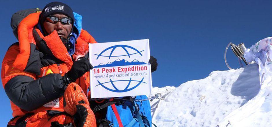 Erst am vergangenen Mittwoch hatte Kami Rita zum 23. Mal die Everest-Spitze erklommen. Nun stand er schon wieder auf dem Gipfel.