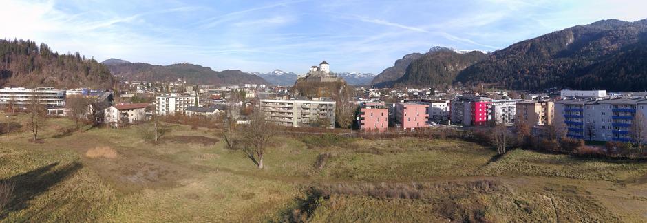 """Ein Areal so groß wie elf Fußballfelder: Der neue """"Stadtteil"""" erreicht in etwa die Dimension der Kufsteiner Innenstadt."""