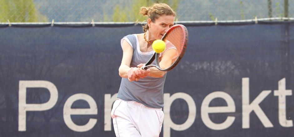 Ex-Top-30-Spielerin Silvia Plischke siegte mit Ried/Kaltenbach.