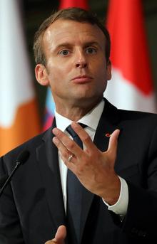 Macron sprach sich außerdem für eine stärkere steuerliche Belastung für Unternehmen in Europa aus, die hohe Umweltschäden verursachen.
