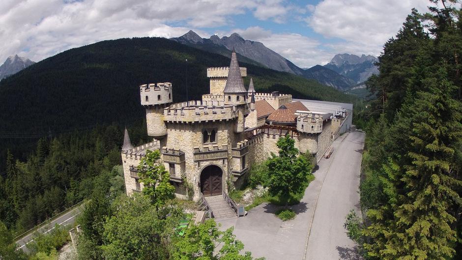 """Nach zahlreichen Fehlversuchen plant das ehemalige Playcastle nun als """"Magic Castle"""" seine Wiederauferstehung als Event-Zentrum."""