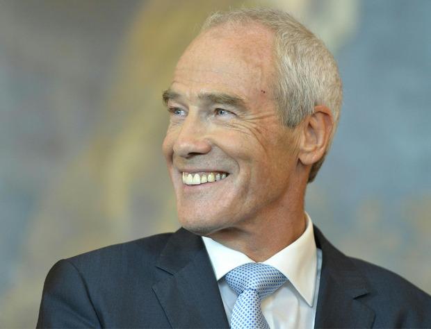 Innenminister Eckart Ratz.