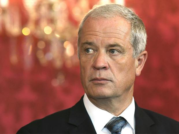 Verteidigungsminister Johann Luif.