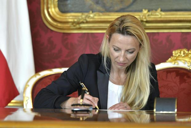Juliane Bogner-Strauß übernimmt das Beamten- und Sportministerium.