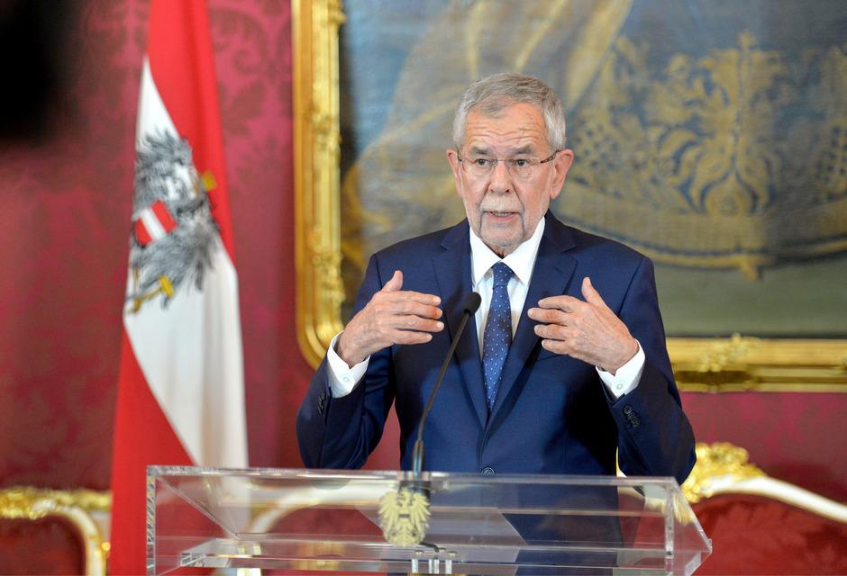 Österreichs Bundespräsident Alexander Van der Bellen.