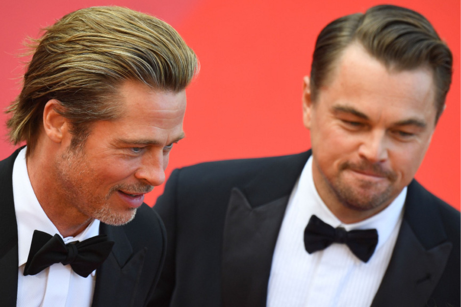 Brad Pitt und Leonardo DiCaprio sorgten auf dem Roten Teppich in Cannes für Begeisterungsstürme.