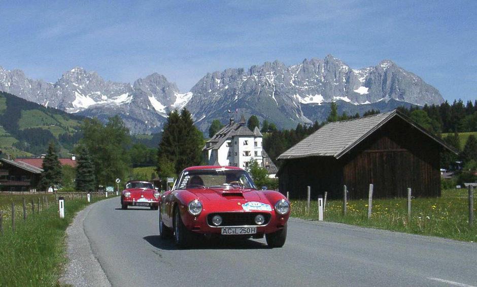 Nicht weniger als 170 Automobilklassiker werden wieder bei der Kitzbüheler Alpenrallye am Start stehen.