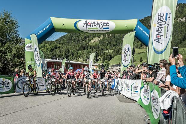 Beim Mountainbike-Festival am Achensee warten insgesamt drei Marathon-Strecken.