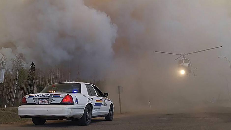 Mehrere Gemeinden in der kanadischen Provinz Alberta wurden evakuiert. (Archivfoto)