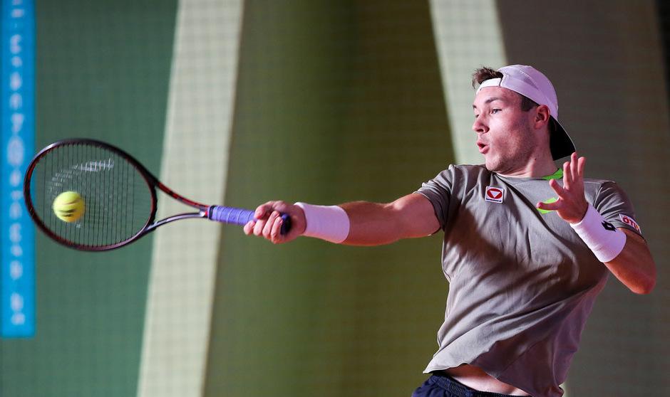 Lucas Miedler ist weiter im Rennen um einen Platz im Hauptfeld der French Open.