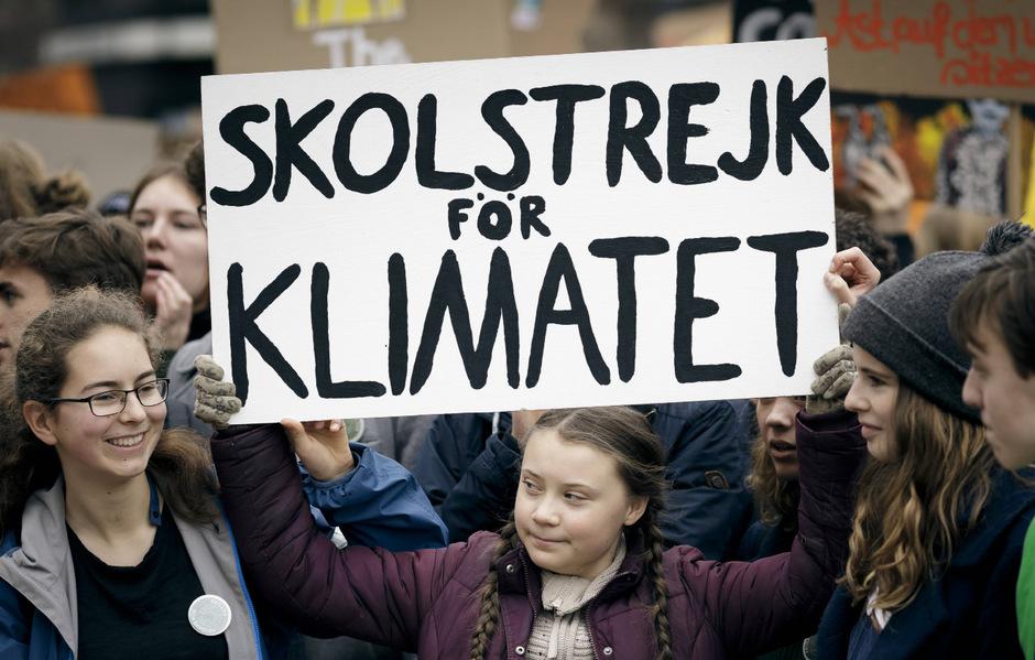 "Greta Thunberg ist die Initiatorin der ""Fridays for Future""-Proteste."