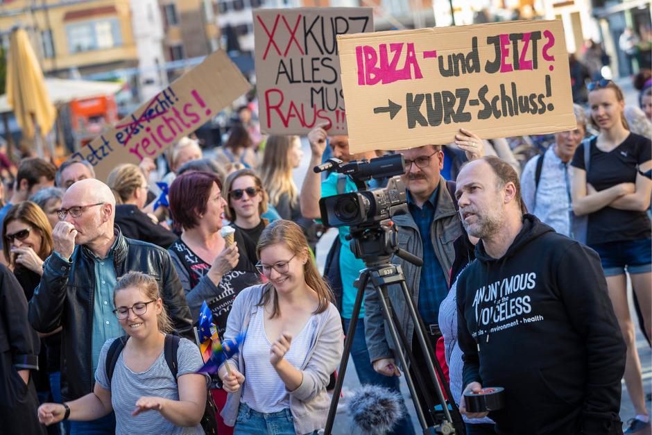 """""""Jetzt reicht's"""": Die Kritik richtet sich vor allem gegen den Bundeskanzler."""