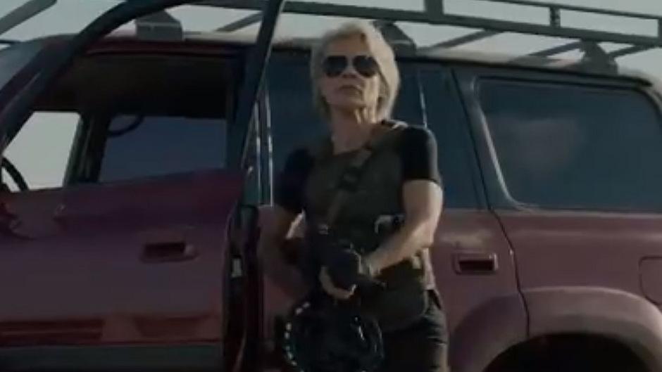Linda Hamilton kehrt nach 28 Jahren in ihrer ikonischen Rolle als Sarah Connor zurück.