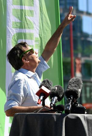Die Grünen hoffen, dass es für sie wieder bergauf geht.