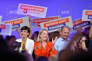 Die SPÖ hofft wie die anderen Oppositionsparteien, bei der EU-Wahl vom Ibiza-Skandal zu profitieren.