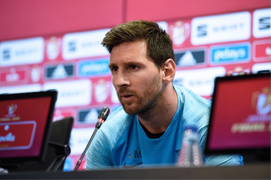 Erfolgreichster Knipser in Europa: Barca-Superstar Lionel Messi.