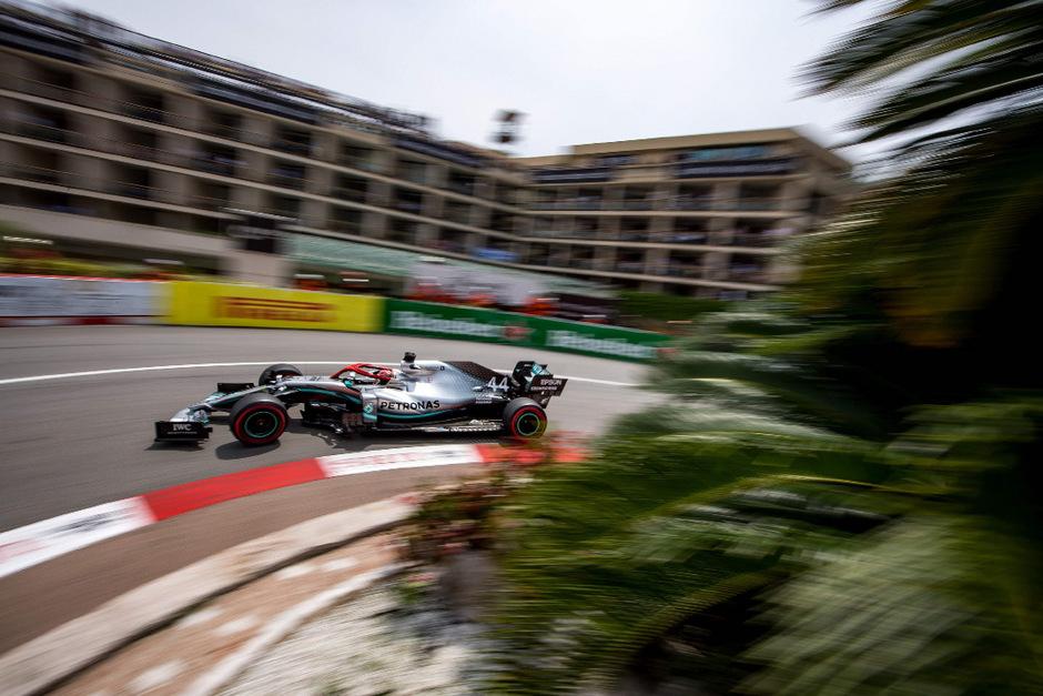 Der schnellste Mann im Qualifying: Mercedes-Pilot Lewis Hamilton.