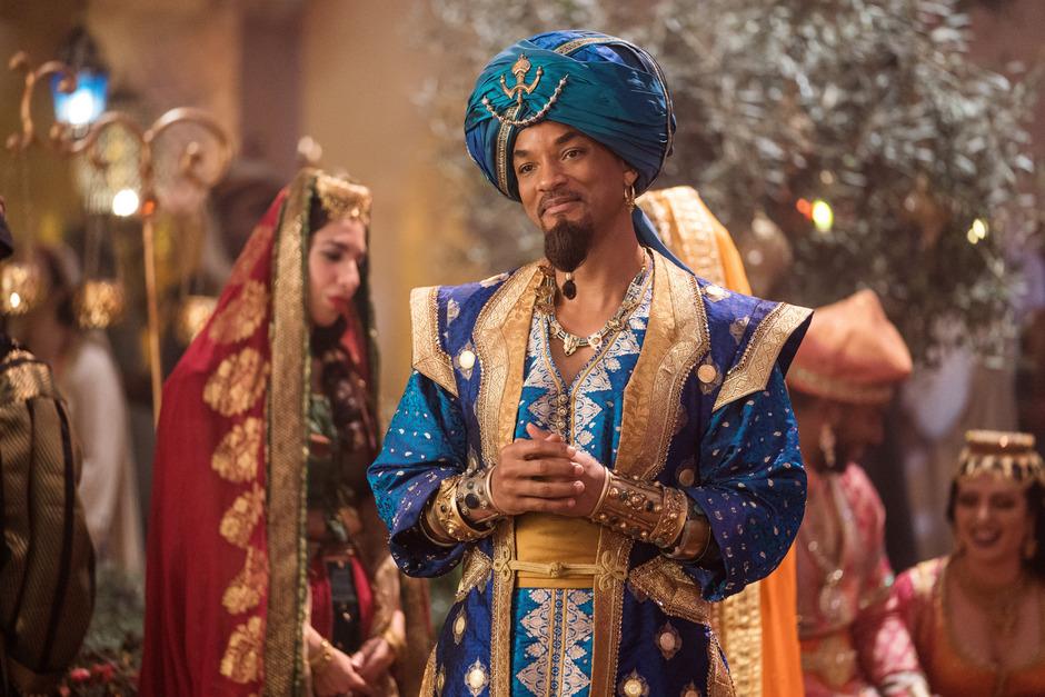 Heute schmückt Smith den Film Aladdin als Dschinni.