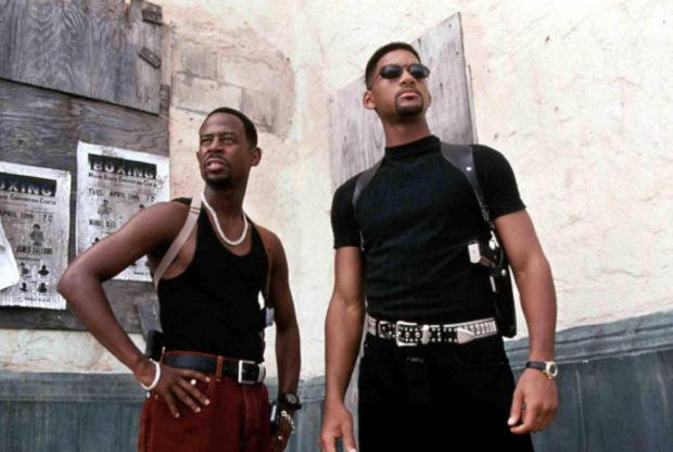 """Will Smith war früher bekannt als Actionheld, wie hier im Film """"Bad Boys""""."""