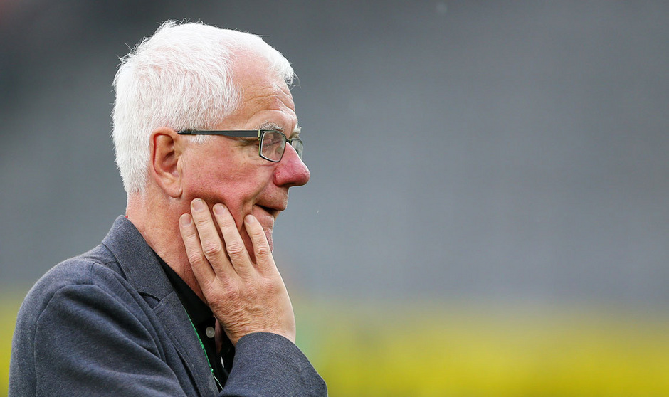 Gezeichnet vom Abstieg: Wacker-Präsident Gerhard Stocker.