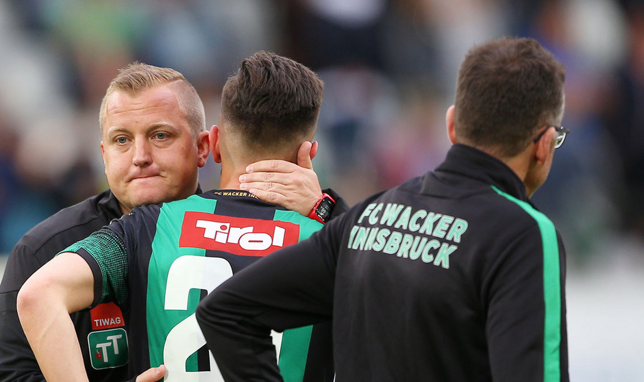 Bei Thomas Grumser und dem FC Wacker Innsbruck ist Aufbauarbeit notwendig. Was die Zukunft bringt, werden die kommenden Tage zeigen.