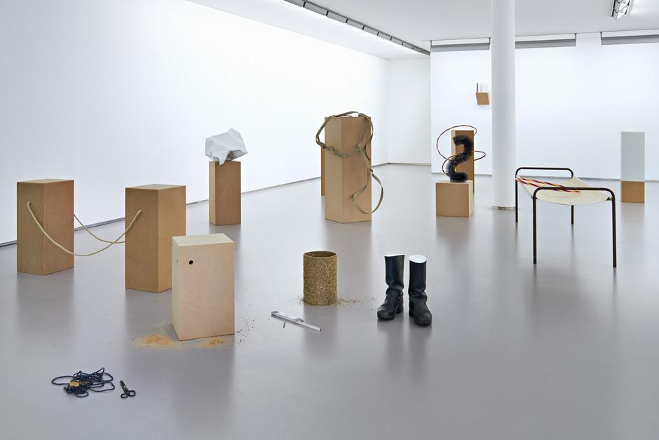 Anna Kolodziejska hat ihr Atelier in die Galerie Kugler übersiedelt.