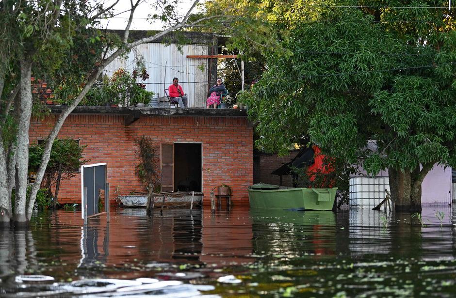 Der Hochwasserstand näherte sich dem Katastrophen-Niveau.