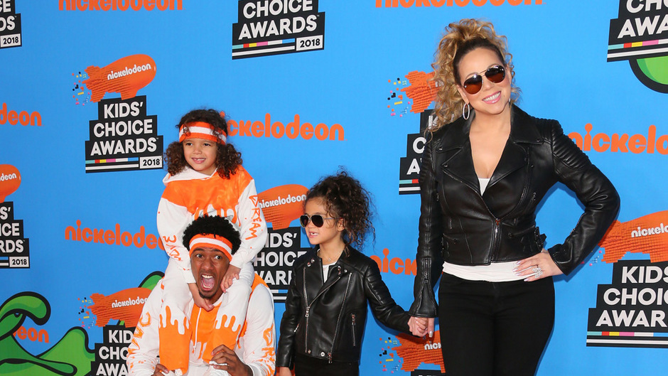 Denselben Stil gab's bei Musikdiva Mariah Carey mit Tochter Monroe und bei Ex-Ehemann Nick Cannon mit Sohn Moroccan Scott.