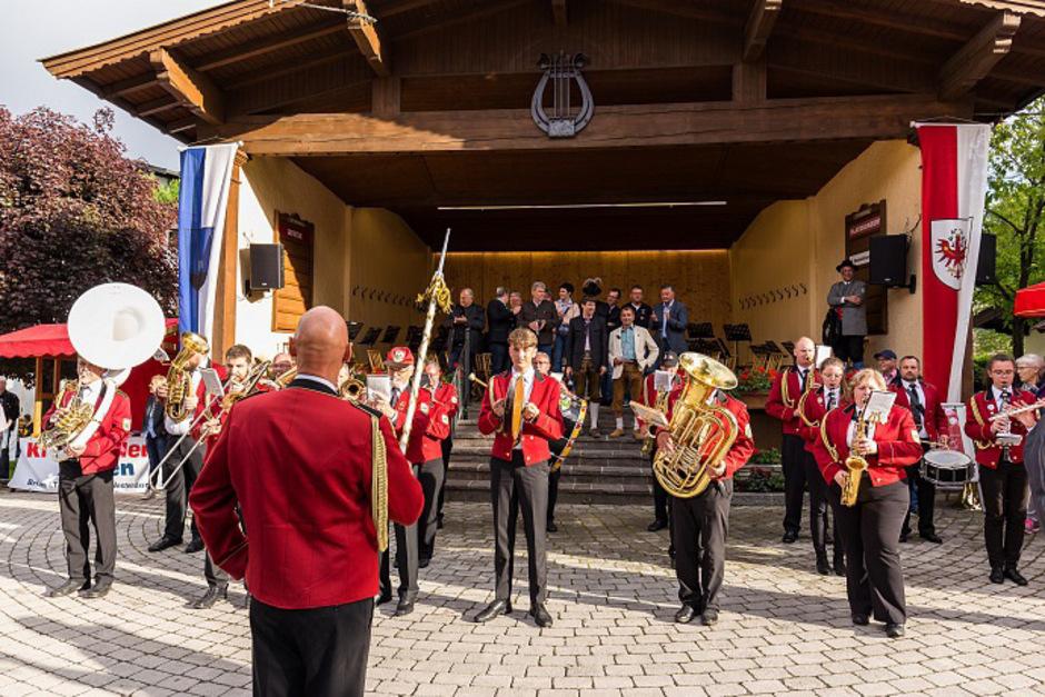 Musikkapellen aus sieben Ländern kommen nach Kirchberg.